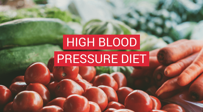 High Blood Pressure Diet - Coverphoto