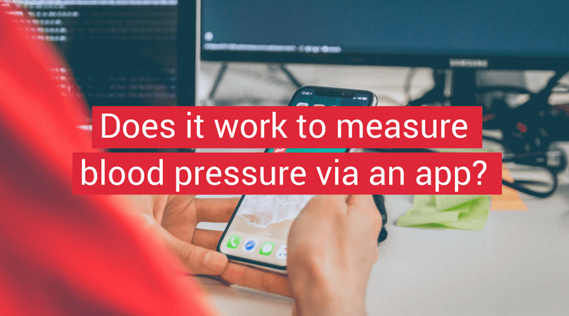 Can you measure blood pressure via app? - Coverphoto